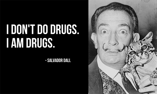 Salvador Dali - Drugs