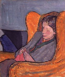 NPG 5933,Virginia Woolf (nÈe Stephen),by Vanessa Bell (nÈe Stephen)
