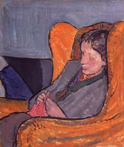 NPG 5933,Virginia Woolf (nÈe Stephen),by Vanessa Bell (nÈe Stephen)