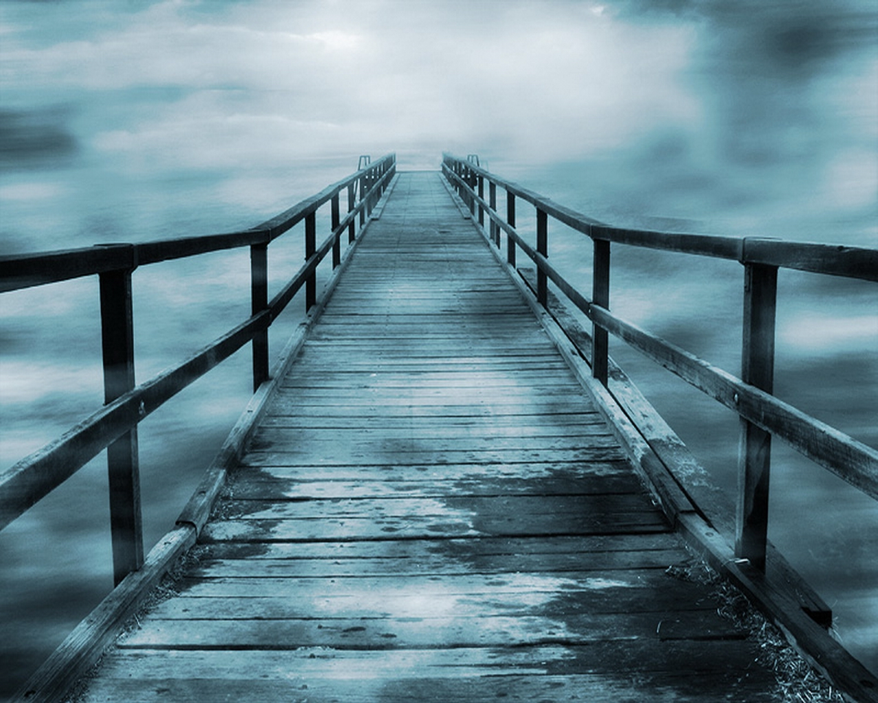 bridge to nowhere fogged clarity