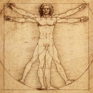 Vitruvian Man - Writer's Brock