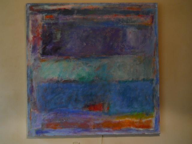 Neil Merrick, acrylic on canvas, 2013