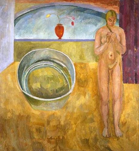 Vanessa Bell, oil on canvas