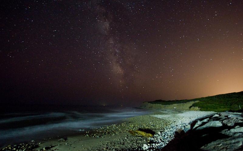 Montauk Point at Night
